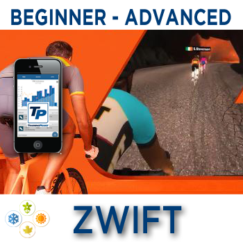 * ZWIFT POWER THRESHOLD: Improve Your FTP Weeks 9-16 of 16