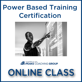 Power Based Training Certification Online Master Class with