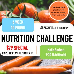 Peaks Coaching Group Nutrition Challenge