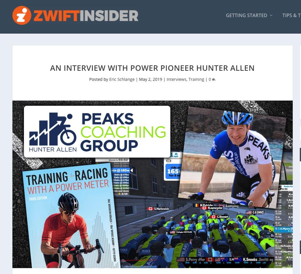 Zwift Insi 5 Advanced Zwift Racing — ZwiftItaly