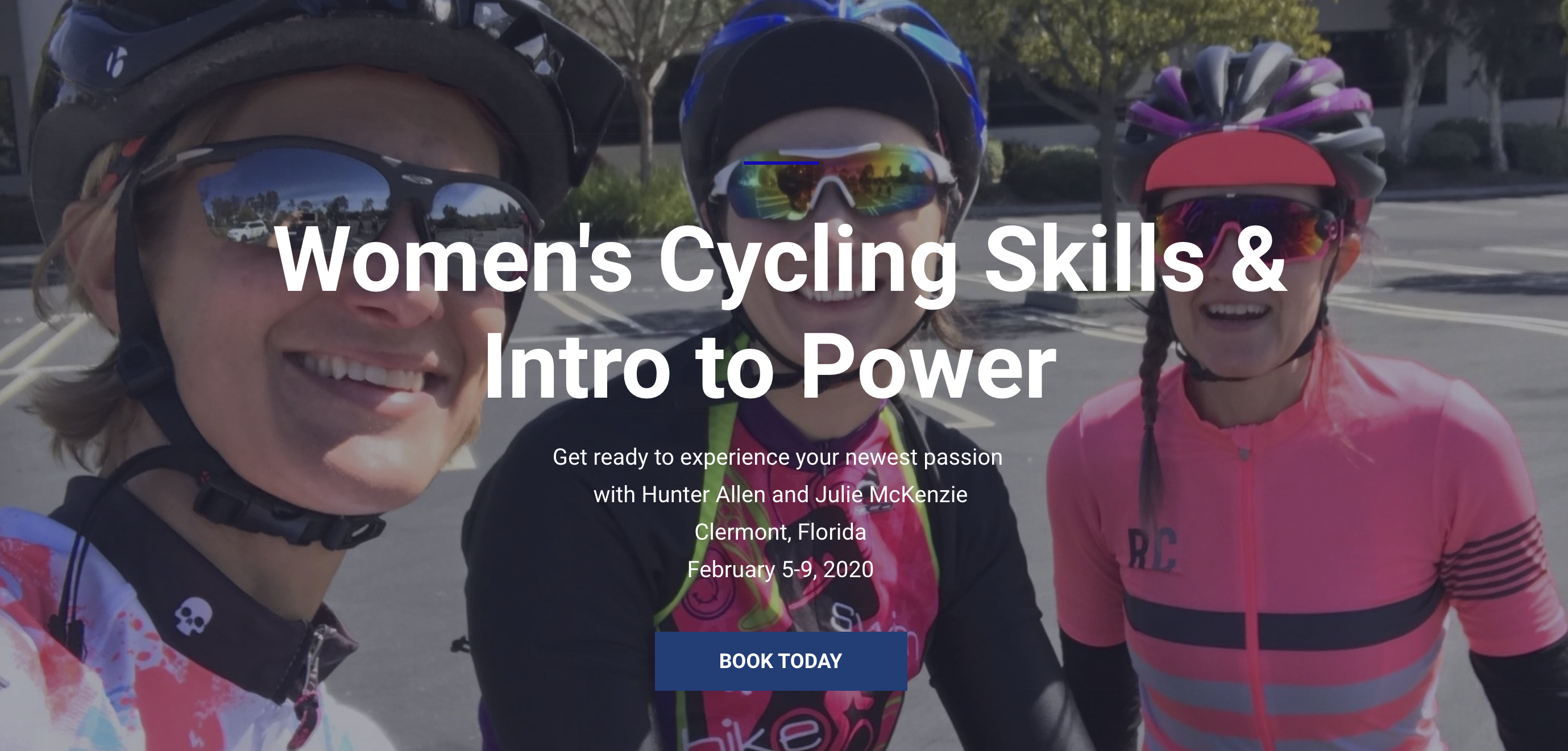 women's cycling camp clermont, FL