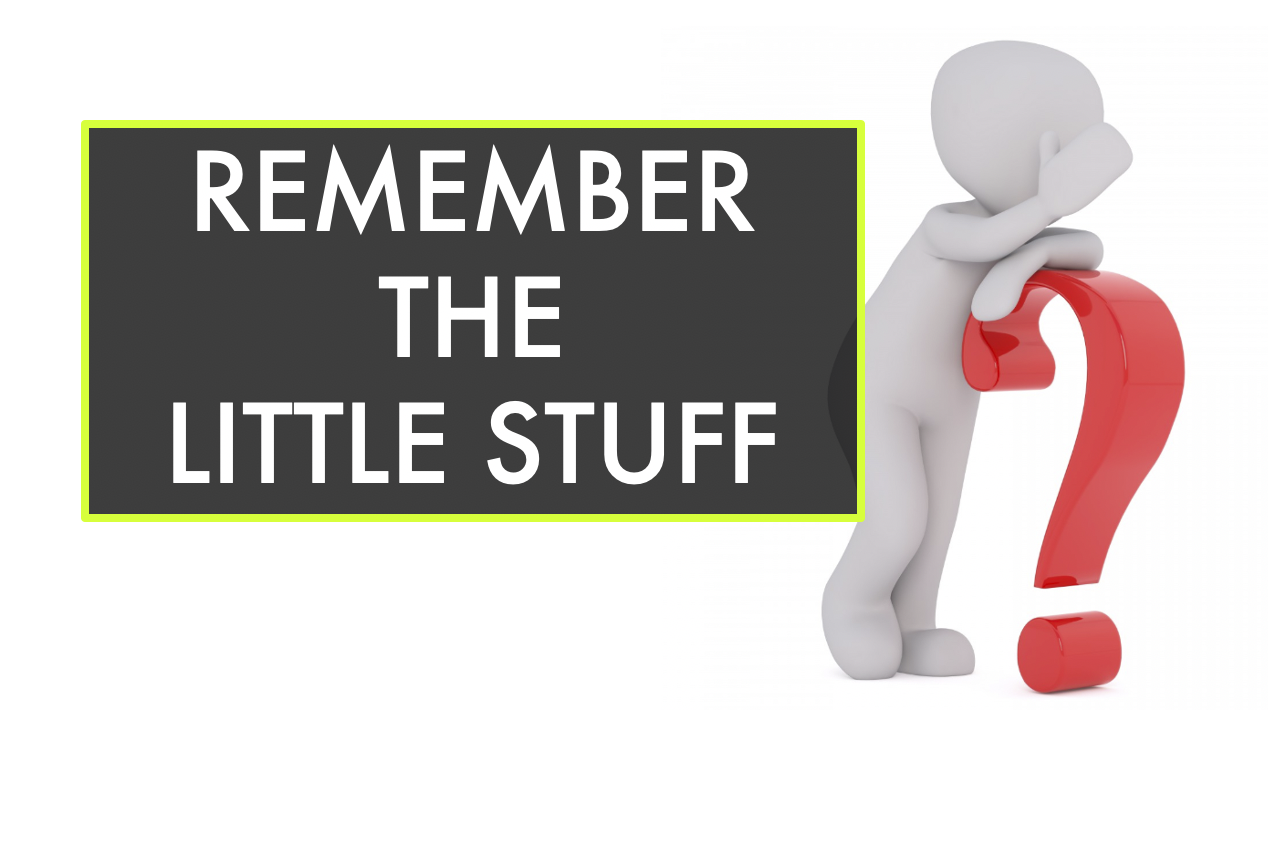 There is so much to remember in training and racing for cycling--don't forget the little stuff!