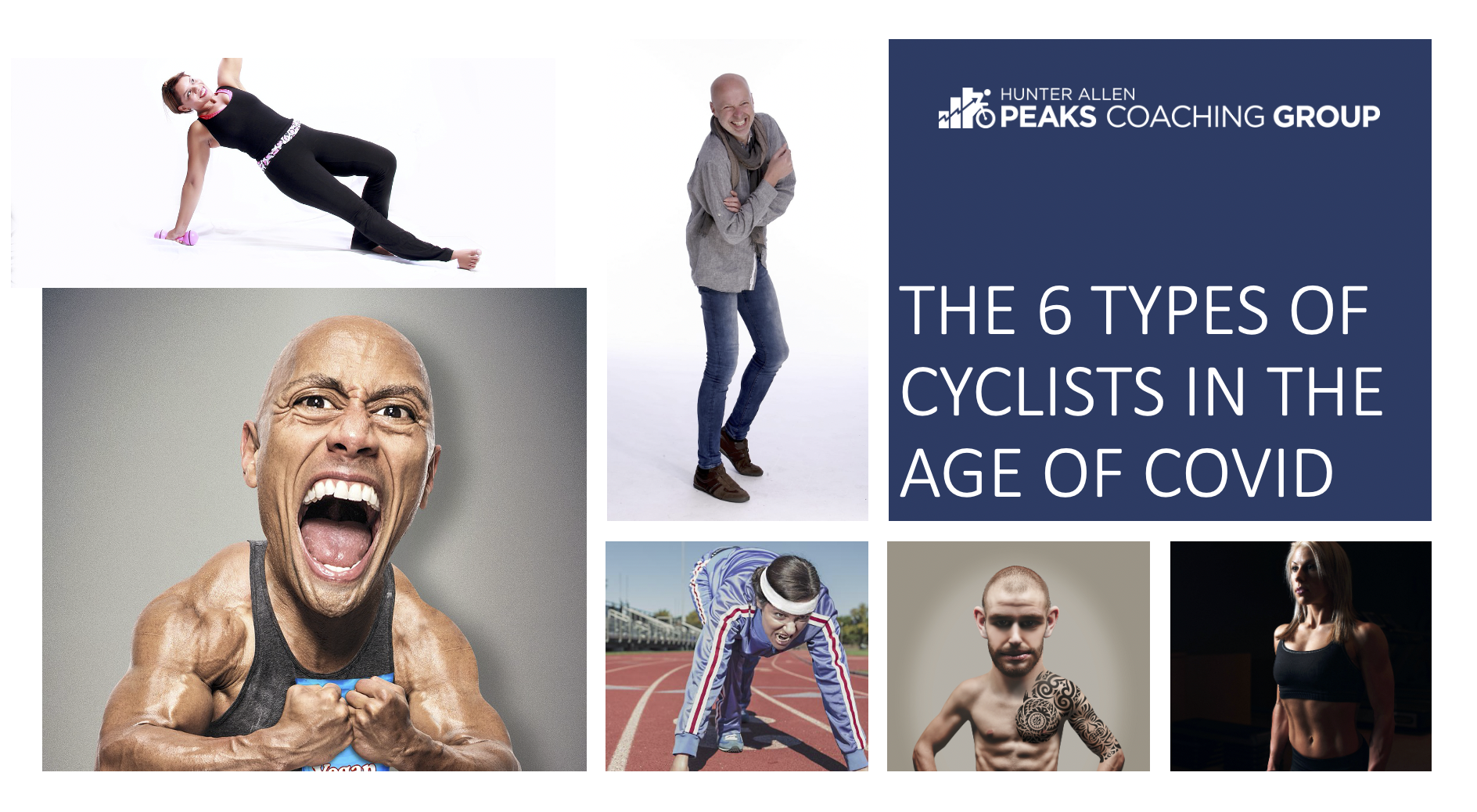 the 6 types of cyclists during the age of covid